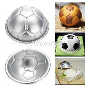 3D Hémisphère Moule Gâteau Balle Ballon Football Déco Patisserie