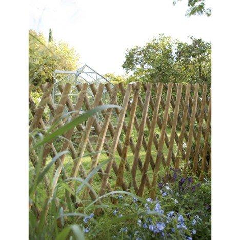 Barrière bois Primo naturel, H.100 x l.250 cm |
