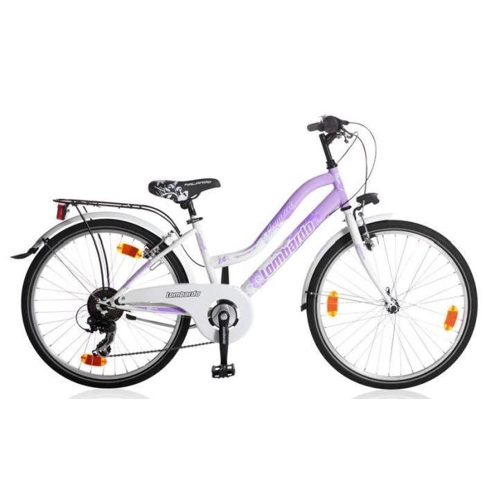 Le vélo Panareo 24 (8 à 12 ans) pouces à un look sportif et