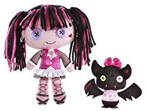 Monster High V1121 Peluche Draclaura et Comte Fabuleux