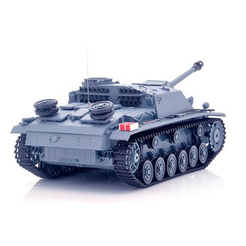 High Tech Place Sturmgeschutz Iii Tank radiocommande 1/16 Systeme