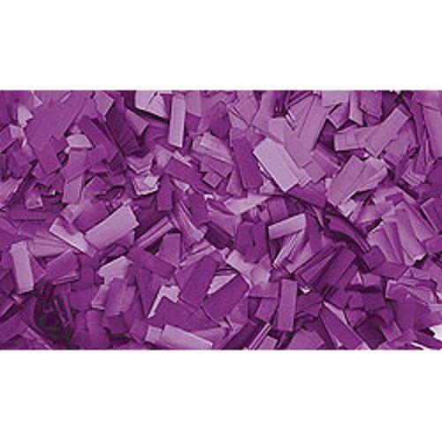 Showtec Confettis Rectangle 55 x 17mm Pourpres pas cher Achat