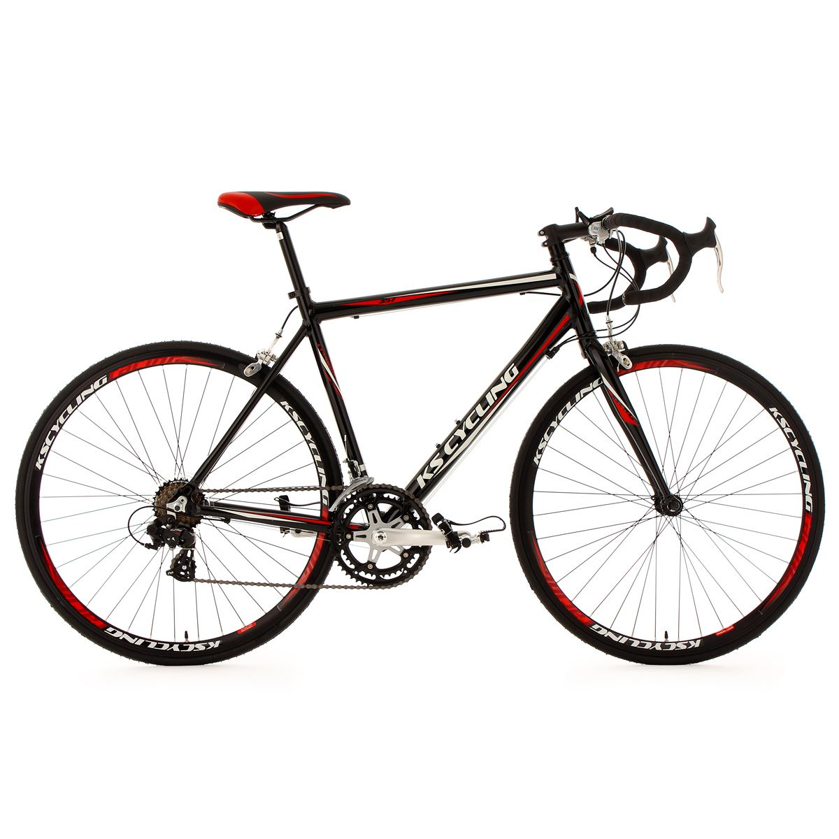 Vélo de course 28 » euphoria noir tc 53 cm ks cycling Ks