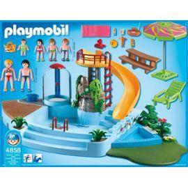 Playmobil 4858 Piscine avec toboggan Playmobil