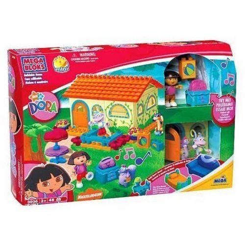 Megablocks 3026 Maison De Dora Avec Personnages Dora, Babouche Et