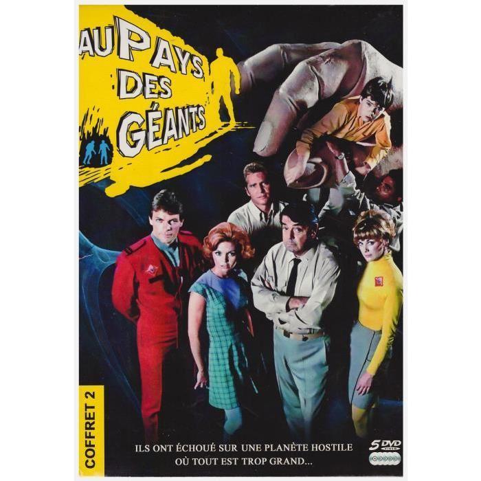 Au Pays Des Geants Saison 2 (DVD) en dvd série pas cher