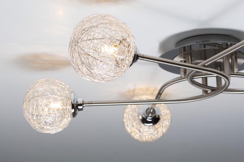 à 6 branches Lampe à suspension Lustre Lampe de salon moderne 30269