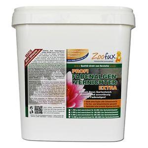 ZOOFUX Professionnel le Desherbant pour algues filamenteuses EXTRA 12