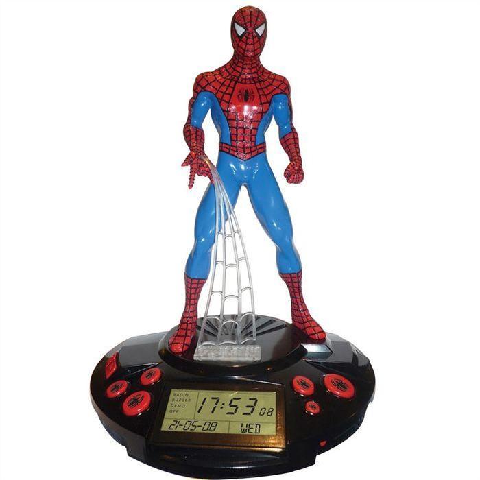 Spiderman Achat / Vente réveil enfant Radio réveil Spiderman