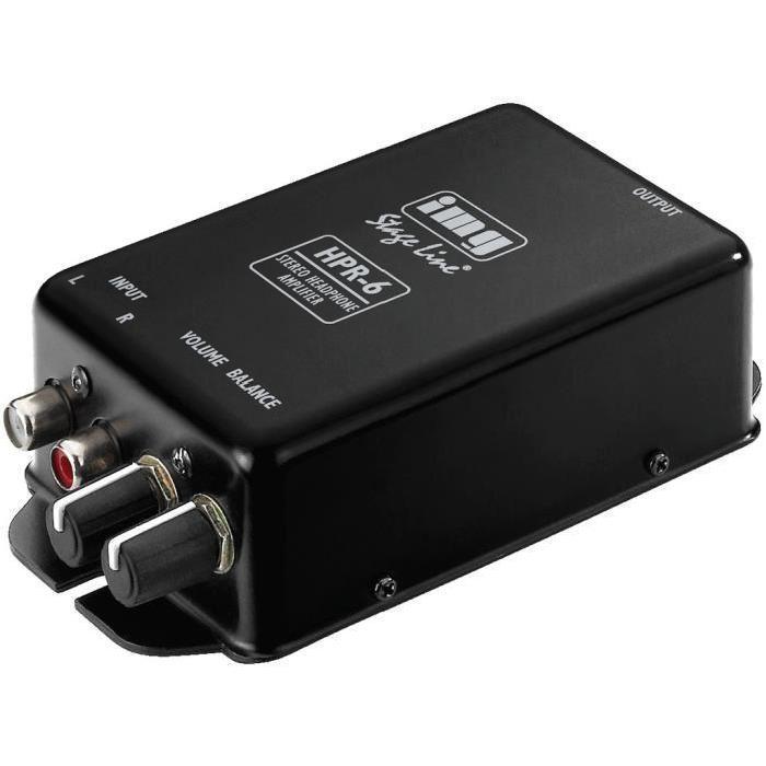Amplificateur casque stéréo de puissance élevée amplificateur
