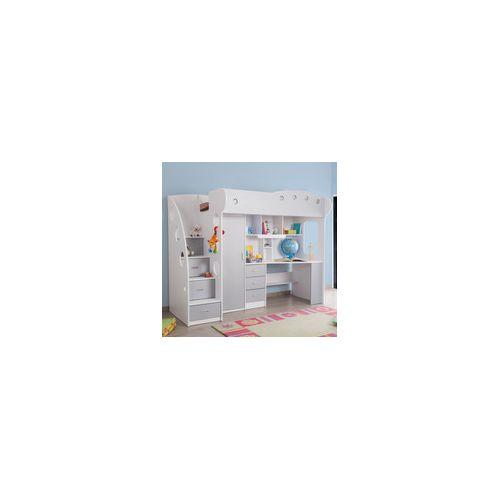 lit combine bureau topiwall. Black Bedroom Furniture Sets. Home Design Ideas
