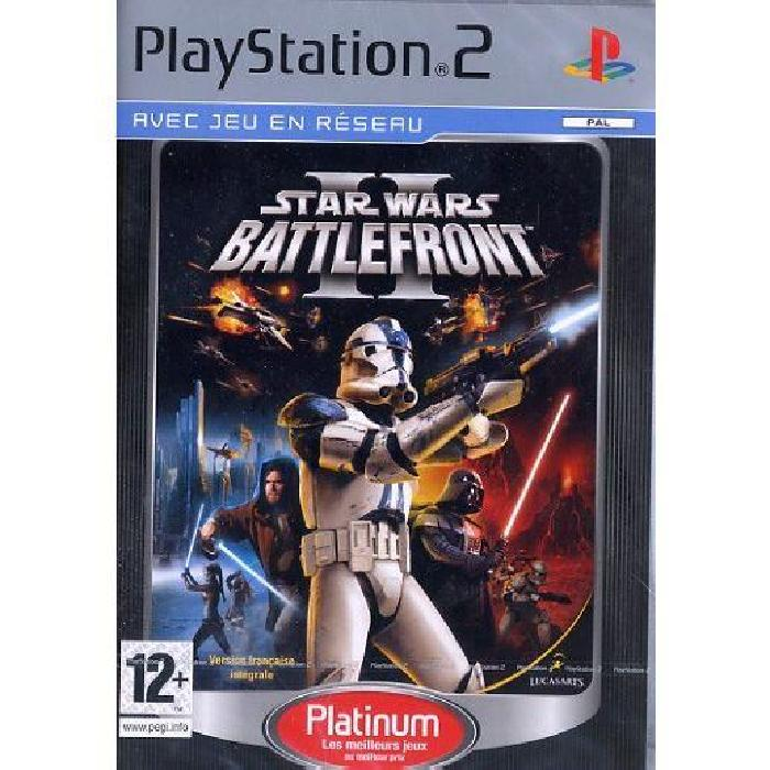 STAR WARS BATTLEFRONT II / PS2 Platinum Achat / Vente jeu ps2 STAR
