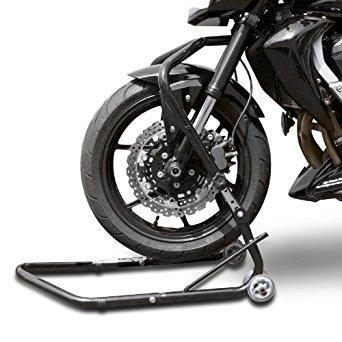 Béquille moto avant sous colonne de direction ConStands