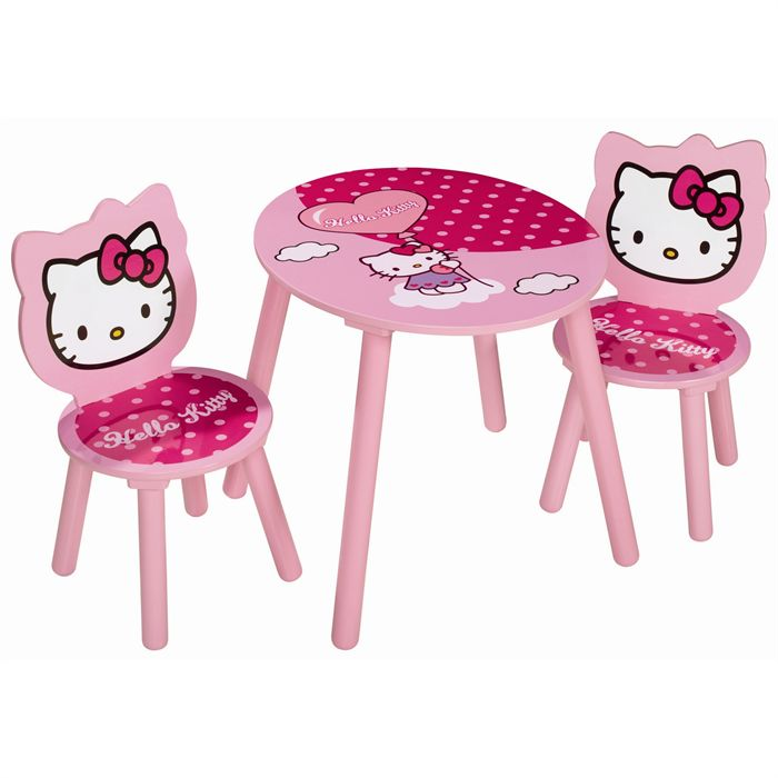 HELLO KITTY Table enfant + 2 Fauteuils Achat / Vente table bébé