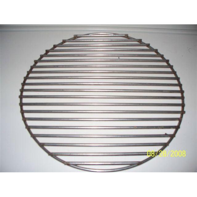 grille barbecue ronde en acier inox diamètre 31cm Achat / Vente