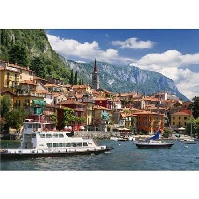Puzzle 1000 pièces Paysages : Lac de Côme, Italie Puzzle de 1000