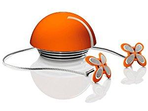 JBL Spyro Enceintes Stereo 2.1 pour iPod 2x6W + 24W Orange