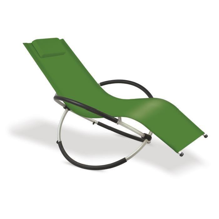 RELAX ATTITUDE VERT Achat / Vente chaise longue RELAX ATTITUDE VERT