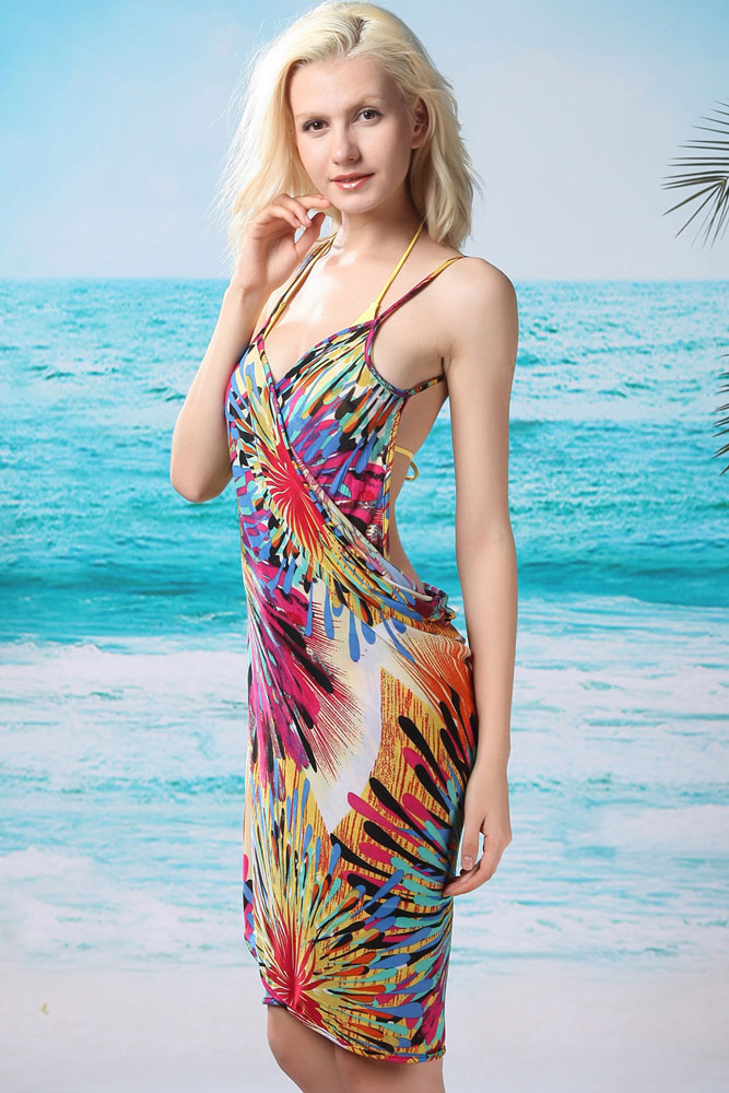 de Plage Paréo Sarong 130 x 75 cm Bikini Maillot de Bain Beach