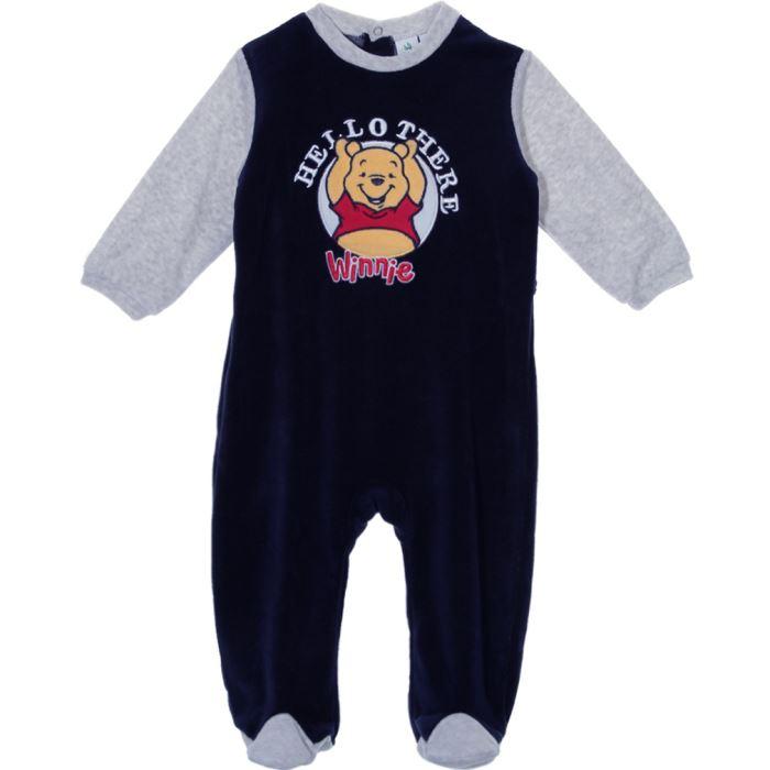 pyjama chemise de nuit Pyjama bébé garçon Winnie l