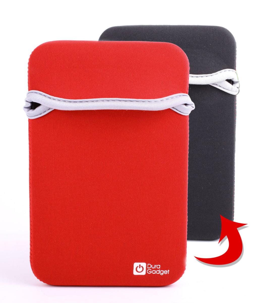 réversible rouge/noir pour tablette MSI Enjoy 71 7 pouces