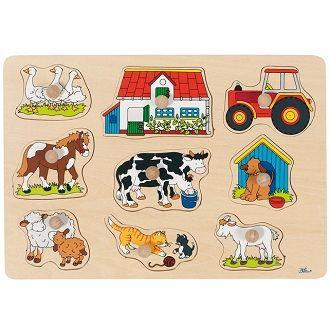 Puzzle en bois la ferme Achat / Vente puzzle