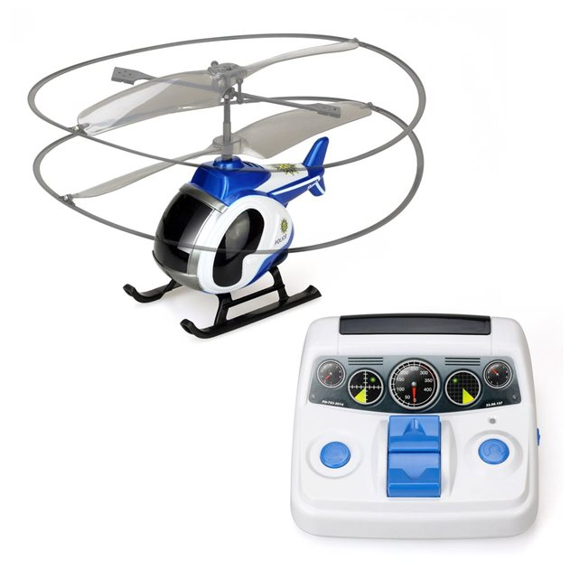 Hélicoptère radiocommandé : Mon premier hélico OUAPS Couleur