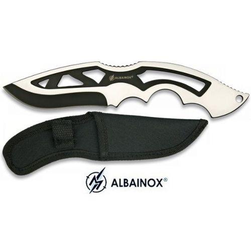 Couteau De Lancer 20,5cm Full Tang Albainox pas cher
