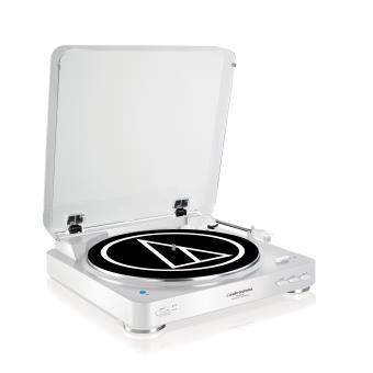 Platine Vinyle Audio Technica LP60 Bluetooth Blanc Platine d'écoute