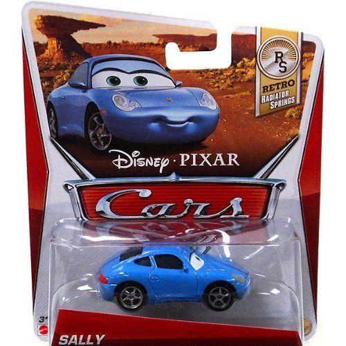 Disney Pixar Cars 2 Sally Voiture Miniature Echelle 1:55 Mattel