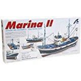 Maquette en bois Carmen II : bateau de pêche du Nord de l'Espagne