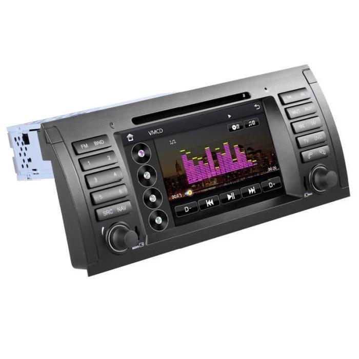 pour BMW Série 5 E39 & X5 E53 Achat / Vente autoradio Autoradio