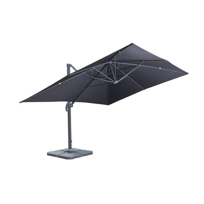 parasol inclinable et rotatif topiwall. Black Bedroom Furniture Sets. Home Design Ideas