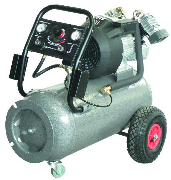 Compresseur coaxial V 3.5 cv 50 litres mono 8 bars 23 m3