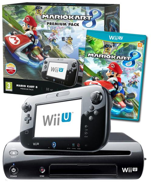 Console Nintendo Wii U Mario kart 8 premium pack nouveau