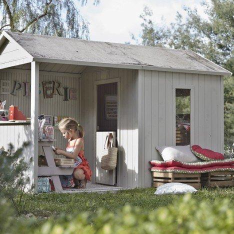 Maisonnette bois Cyrielle SOULET , 3.46 m² |