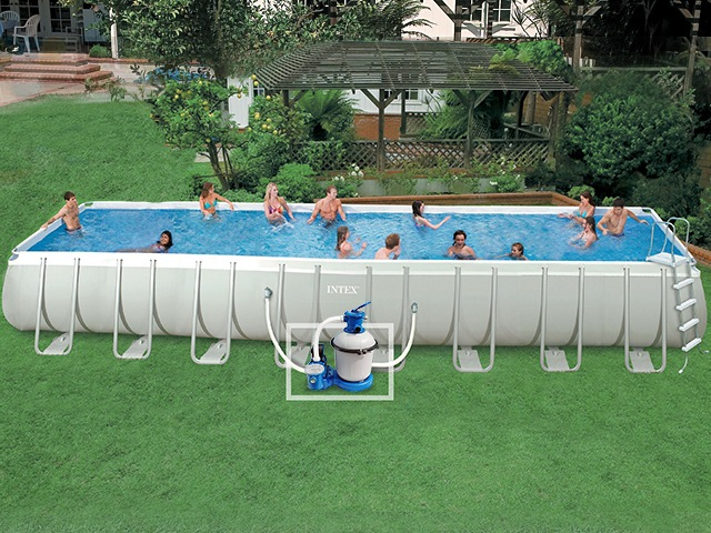 Piscine tubulaire topiwall for Prix piscine intex