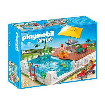 City Life 5575 Piscine avec terrasse Playmobil Achat & prix Fnac