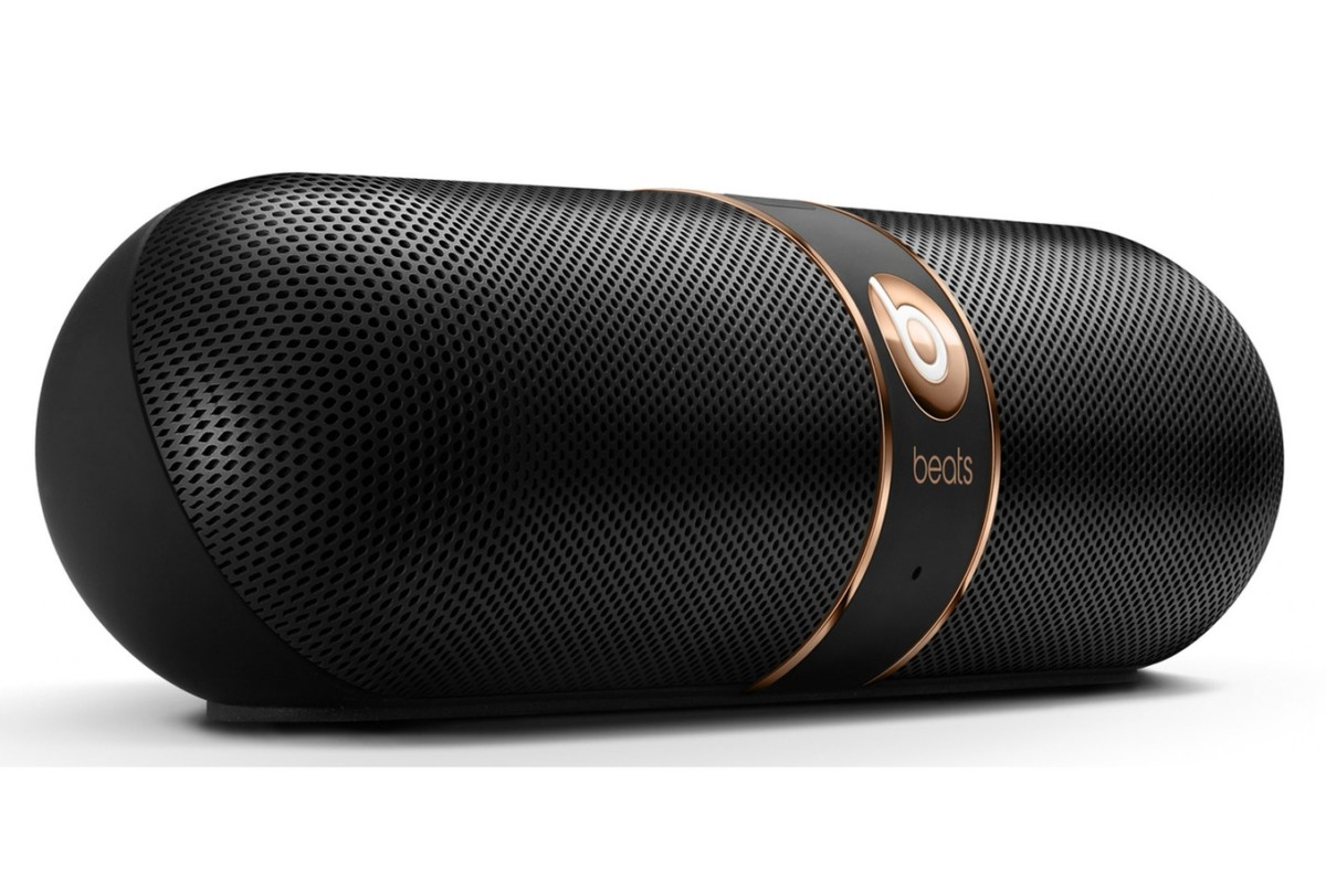 Enceinte bluetooth / sans fil Beats PILL V2 NOIR ET OR (4103513