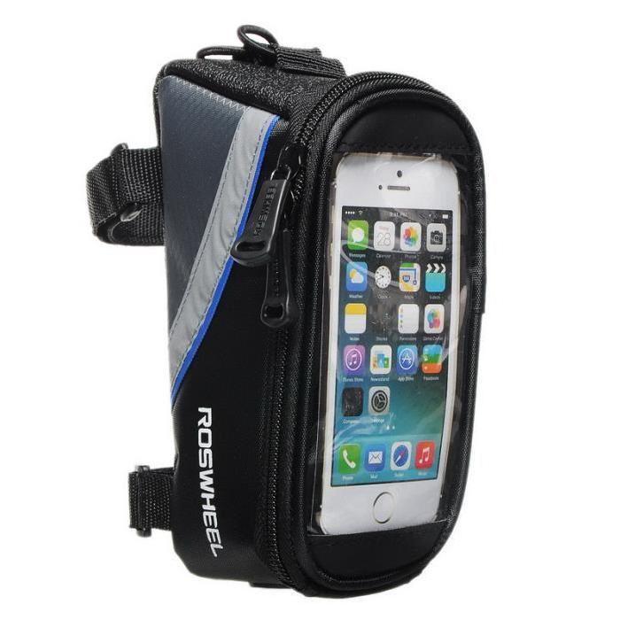 Route de montage pour vélo GPS Smart Phone carte musique Tube