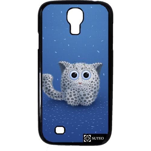 Coque pour Samsung Galaxy S4 mini ? Chat flocon? Achat / Vente