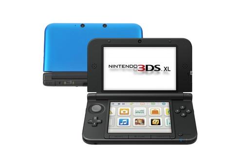Consoles 3DS Nintendo 3DS XL BLEU + NOIR (3628000)