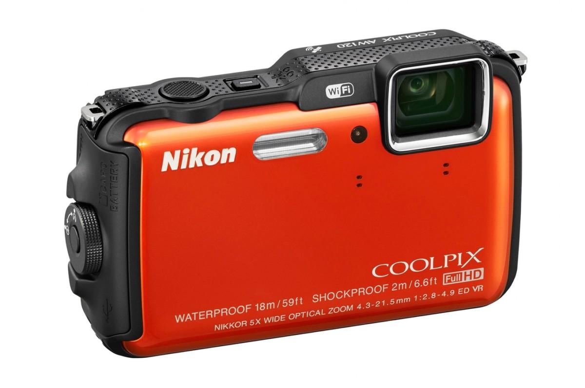 Appareil photo compact Nikon AW120 KIT ORANGE (4064259) |