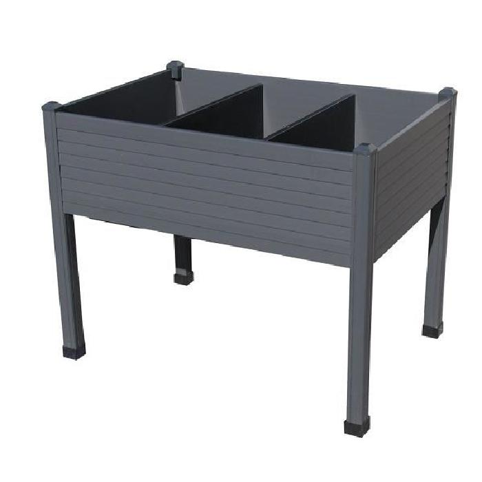 Table de culture 90 x 60 cm Anthracite La gamme de tables de