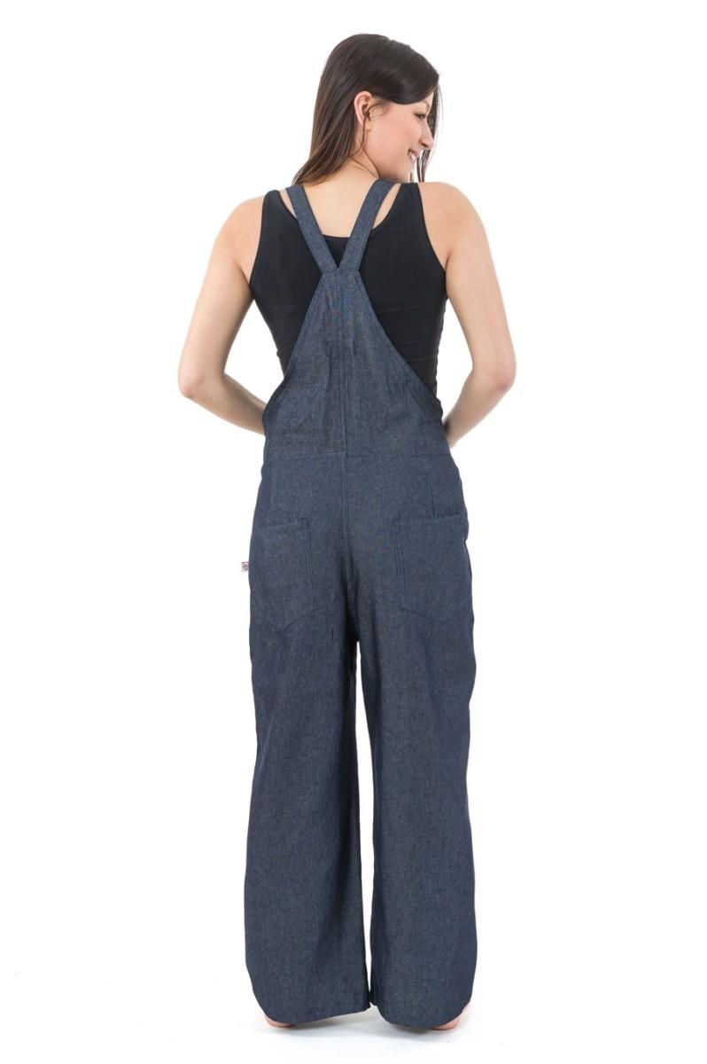 Salopette femme basique blue Jean denim epais Jinsa Neuf