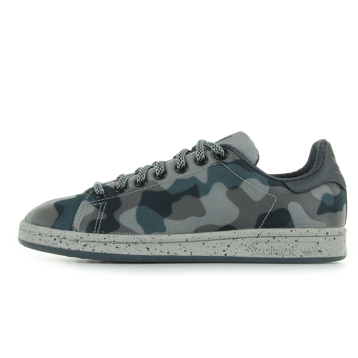 Chaussures Baskets Adidas Homme Stan Smith Taille Gris Grise Textile