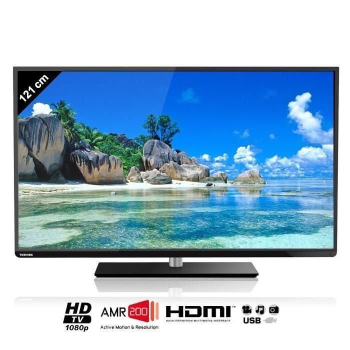 TOSHIBA 48L1433DG TV LED Full HD 121cm téléviseur led, prix pas