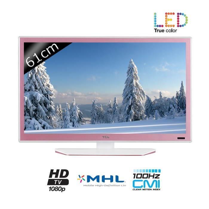 TCL TV L24E4153F Full HD 1080p 61cm (24 pouces) LED 1 HDMI