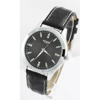 mp3 montre homme bracelet cuir noir 252 montre homme mode homme