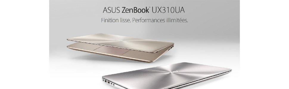 Asus Zenbook UX410UA GV010T Ultrabook 14″ FHD Métal (Intel Core i5, 4